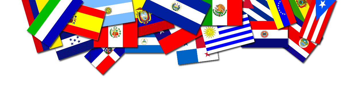 Spanish speaking countries flag
